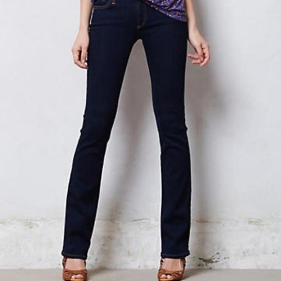 Ag Adriano Goldschmied Denim - AG Jeans The Ballard Slim Boot Black Jeans Sz 32R
